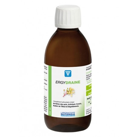 ERGYDRAINE - 250ml - PHARMACIE VERTE - Herboristerie à Nantes depuis 1942 - Plantes en Vrac - Tisane - EPS - Bourgeon - Mycothér