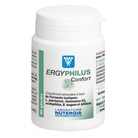 ERGYPHILUS Confort - 60 gélules - PHARMACIE VERTE - Herboristerie à Nantes depuis 1942 - Plantes en Vrac - Tisane - EPS - Bourge