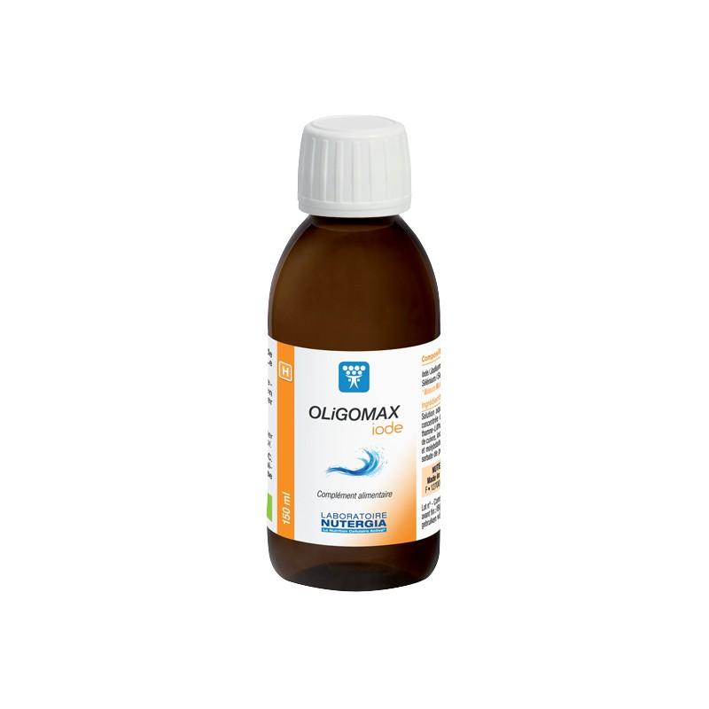 OLIGOMAX Iode - 150ml - PHARMACIE VERTE - Herboristerie à Nantes depuis 1942 - Plantes en Vrac - Tisane - EPS - Homéopathie - Ge