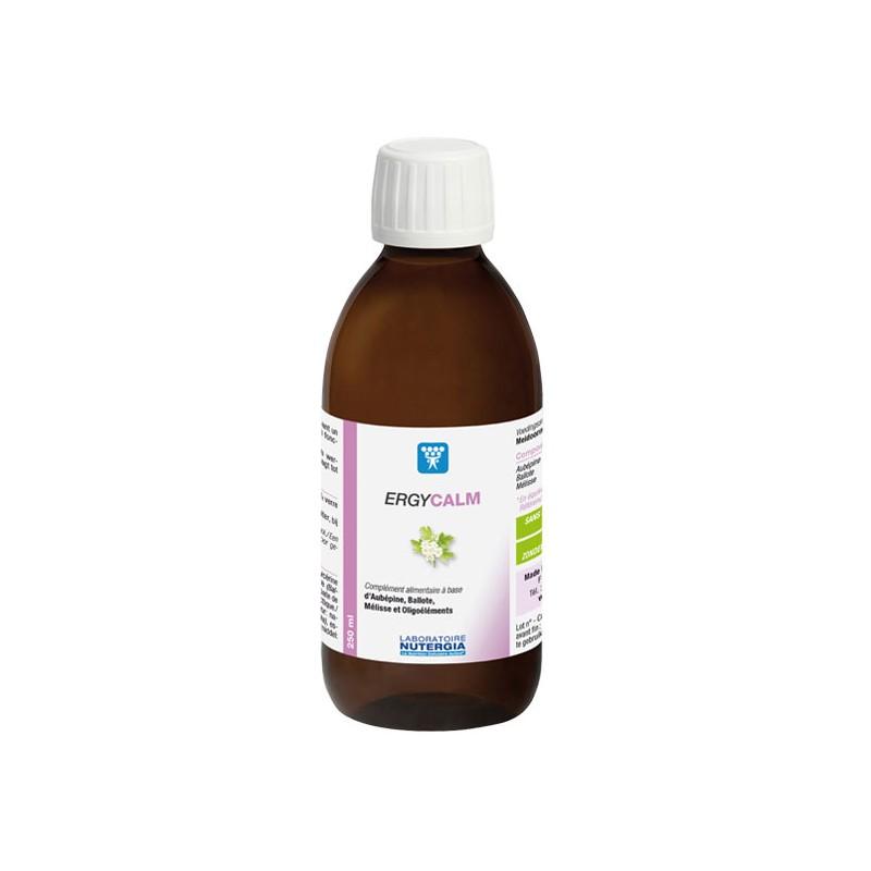 ERGYCALM - 250ml - PHARMACIE VERTE - Herboristerie à Nantes depuis 1942 - Plantes en Vrac - Tisane - EPS - Homéopathie - Gemmoth