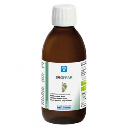 ERGYPAR - 250ml - PHARMACIE VERTE - Herboristerie à Nantes depuis 1942 - Plantes en Vrac - Tisane - EPS - Homéopathie - Gemmothe