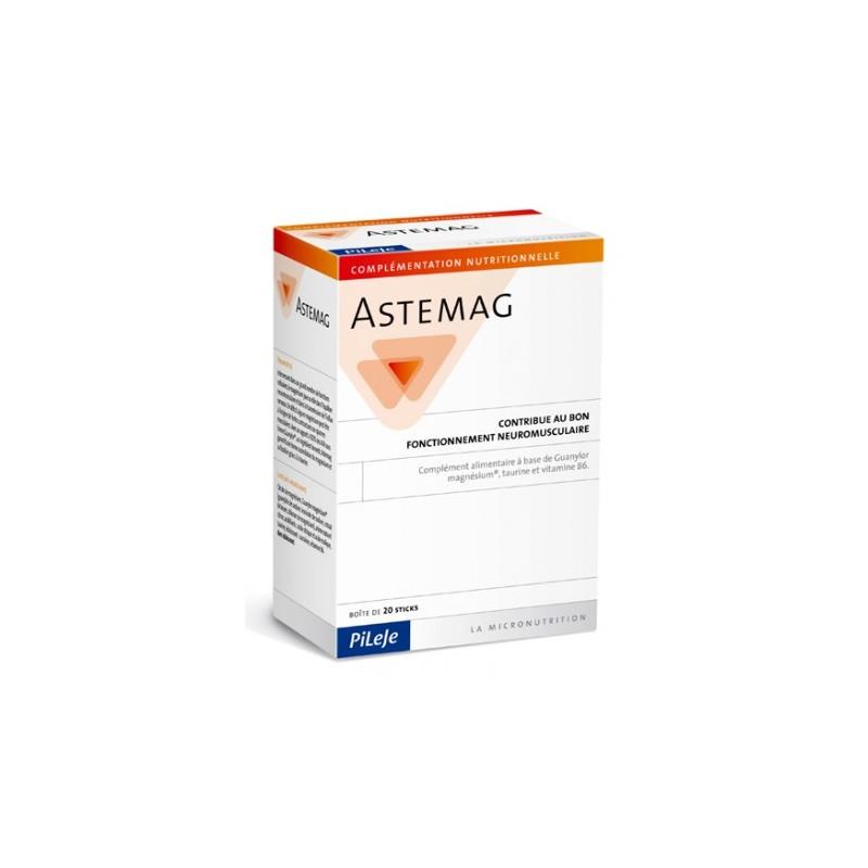 ASTEMAG - 20 sticks - PHARMACIE VERTE - Herboristerie à Nantes depuis 1942 - Plantes en Vrac - Tisane - EPS - Homéopathie - Gemm