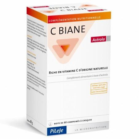 C Biane - 60 comprimés - PHARMACIE VERTE - Herboristerie à Nantes depuis 1942 - Plantes en Vrac - Tisane - EPS - Homéopathie - G