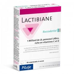 LACTIBIANE Buccodental - 30 comprimés - PHARMACIE VERTE - Herboristerie à Nantes depuis 1942 - Plantes en Vrac - Tisane - EPS -
