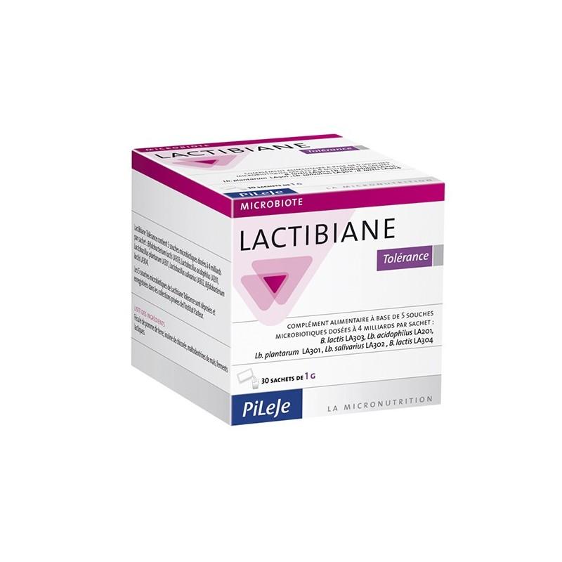 LACTIBIANE TOLERANCE - 30 sachets de 2,5gr - PHARMACIE VERTE - Herboristerie à Nantes depuis 1942 - Plantes en Vrac - Tisane - E