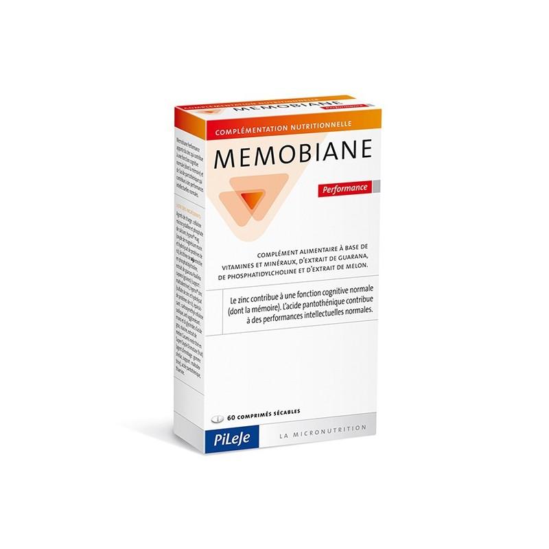 MEMOBIANE Performance - 60 comprimés sécables - PHARMACIE VERTE - Herboristerie à Nantes depuis 1942 - Plantes en Vrac - Tisane