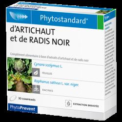 PhytoStandard ARTICHAUT & RADIS NOIR - 30 comprimés - PHARMACIE VERTE - Herboristerie à Nantes depuis 1942 - Plantes en Vrac - T
