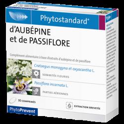 PhytoStandard AUBEPINE & PASSIFLORE - 30 comprimés - PHARMACIE VERTE - Herboristerie à Nantes depuis 1942 - Plantes en Vrac - Ti