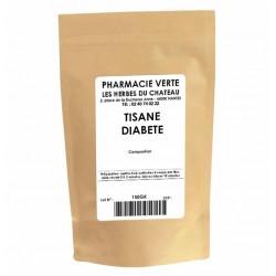 DIABETE - 150GR - PHARMACIE VERTE - Herboristerie à Nantes depuis 1942 - Plantes en Vrac - Tisane - EPS - Bourgeon - Mycothérapi
