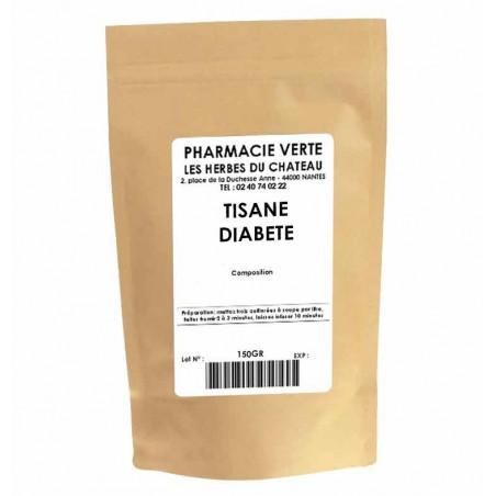 DIABETE - 150GR - PHARMACIE VERTE - Herboristerie à Nantes depuis 1942 - Plantes en Vrac - Tisane - EPS - Homéopathie - Gemmothe