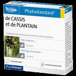 PhytoStandard CASSIS & PLANTAIN - 30 comprimés - PHARMACIE VERTE - Herboristerie à Nantes depuis 1942 - Plantes en Vrac - Tisane