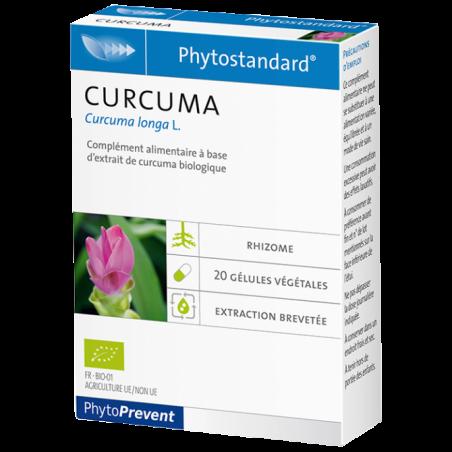 PhytoStandard CURCUMA - 20 gélules - PHARMACIE VERTE - Herboristerie à Nantes depuis 1942 - Plantes en Vrac - Tisane - EPS - Hom